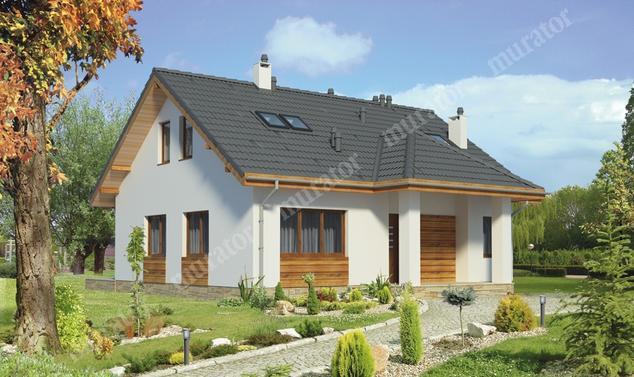 Projekt domu:  Murator C271   – Kuszący