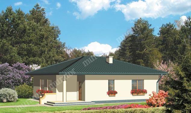 Projekt domu:  Murator D38   – Uroczy