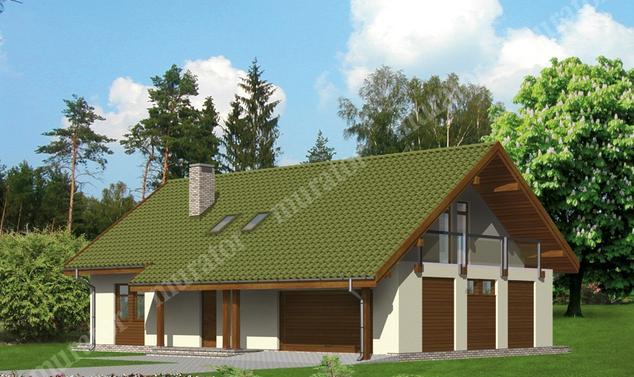 Projekt domu:  Murator M39a   – Miły dzień - wariant I